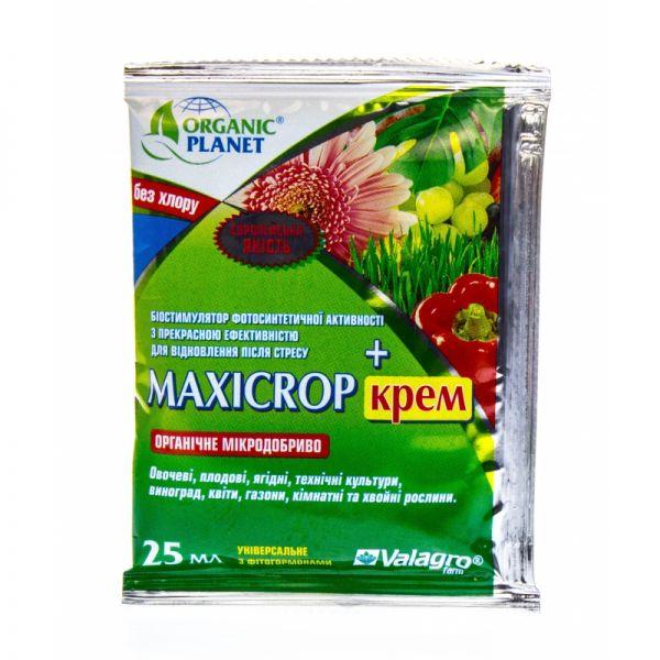 Биостимулятор фитогормонов и микроэлементов Максикроп КРЕМ Valagro Organic Planet