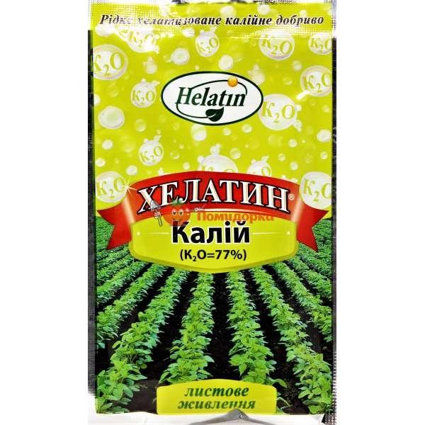 Удобрение ХЕЛАТИН КАЛИЙ (77%) Helatin, Фасовка - 1.2 л